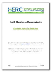 HERC Student Handbook v4 2019